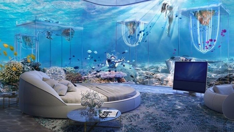 In Dubai construction of the first-ever five-star underwater resort began